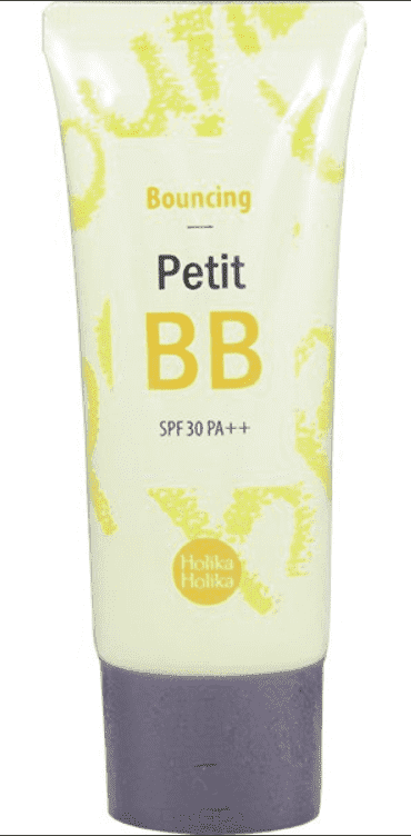Holika Holika, ББ-крем для лица Упругость SPF30 PA Petit BB Bounсing AD, 30 мл holika holika bouncing petit bb cream spf30 pa 30ml korea cosmetic