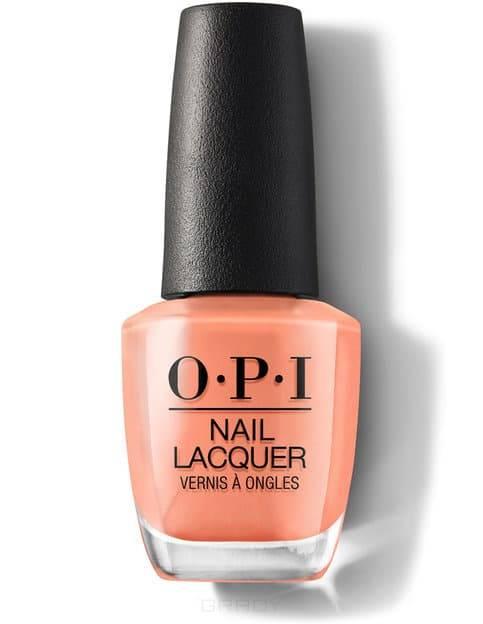 OPI, Лак для ногтей Nail Lacquer, 15 мл (214 цветов) Freedom Of Peach / Classics opi лак для ногтей classic nlw60 squeaker of the house 15 мл