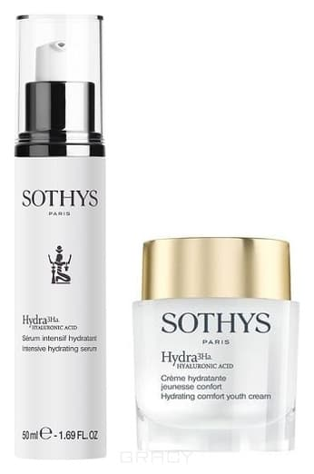 Sothys, Промо-набор: Обогащённый увлажнящий anti-age крем 50 мл + Ультраувлажняющая сыворотка 50 мл sothys активный anti age крем grade 4 50 мл