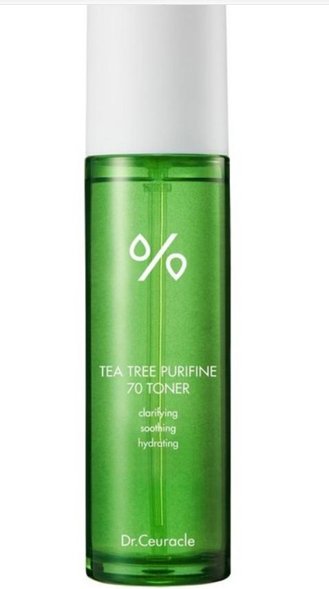 Dr.Ceuracle, Тонер для лица с чайным деревом, успокаивающий Tea Tree Purifine 70 Toner, 100 мл стоимость