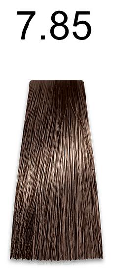 Kaaral, Стойкая безаммиачная крем-краска с гидролизатами шелка Baco Soft Ammonia Free, 60 мл (42 оттенка) 7.85 коричнево-махагоновый блондин  - Купить