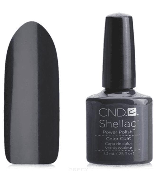 CND (Creative Nail Design), Гель-лак UV Shellac шеллак (58 оттенков) 031 Asphalt cnd 058a покрытие гелевое steel gaze shellac 7 3мл