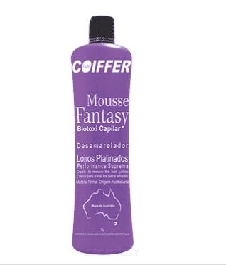 Coiffer, Увлажняющая маска-мусс для волос Fantasy Hidratacao Шаг 2, 1 лКератиновое выпрямление и восстановление волос<br><br>