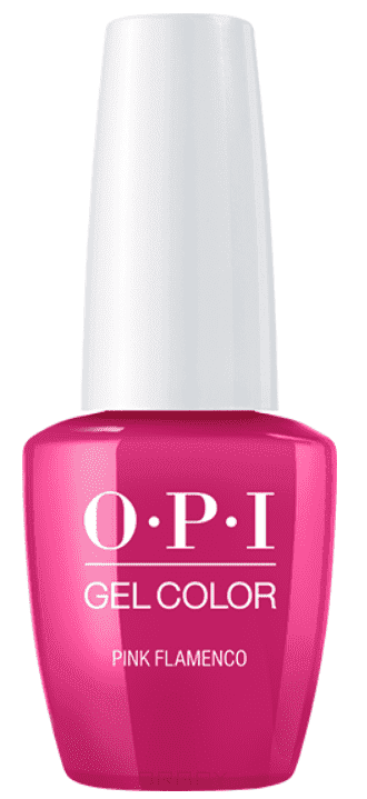 OPI, Гель-лак GelColor, 15 мл (95 цветов) Pink Flamenco цена