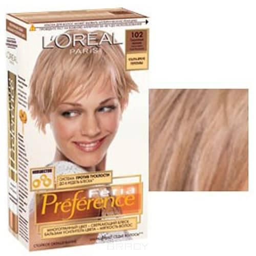 LOreal, Краска для волос Preference Feria (6 оттенков), 270 мл 102 Сверкающий переливыОкрашивание<br><br>