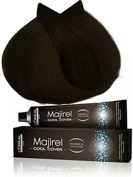 Купить L'Oreal Professionnel, Краска для волос Majirel Cool Cover (13 оттенков) 5.3 светлый шатен золотистый