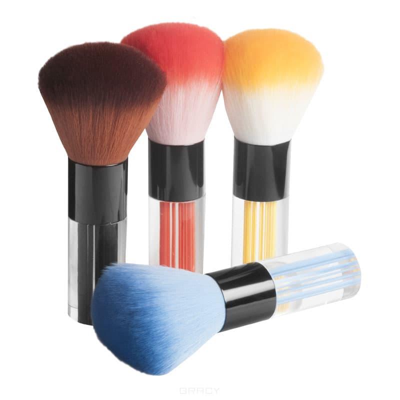 Planet Nails, Кисть для смахивания пыли (4 цвета), 1 шт, КрасныйЩеточки для ногтей и другие аксессуары<br><br>