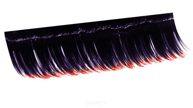 Planet Nails, Ресницы на полосках красные соболь 10 пол. (5 видов) Ресницы на полосках красные соболь 10 пол. (5 видов)Наращивание ресниц<br><br>
