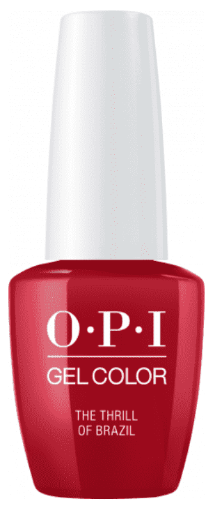OPI, Гель-лак GelColor, 15 мл (95 цветов) Thrill Of Brasil beautix гель лак 120 15 мл