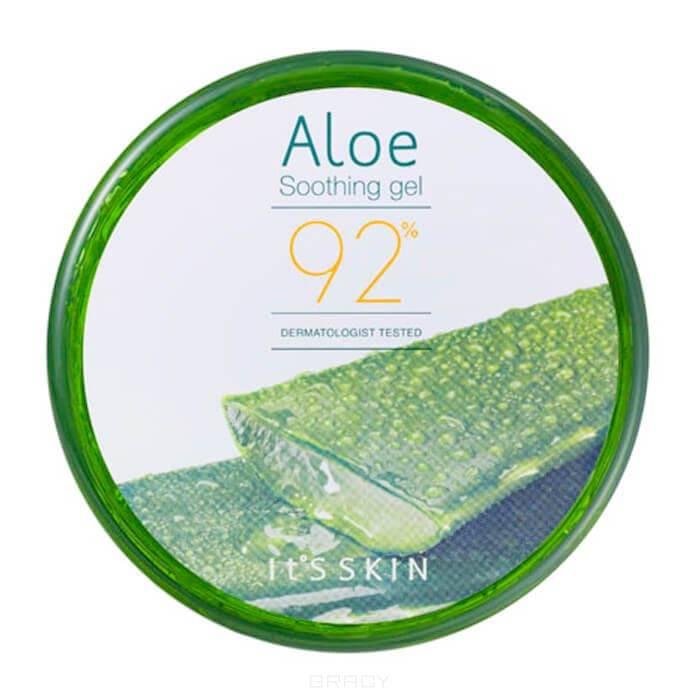 It's Skin, Aloe Soothing Gel 92% Универсальный гель Алоэ вера 92% Ит Скин, 200 г the skin house aloe soothing vitamin gel ночной витаминный крем гель с алое 50 мл