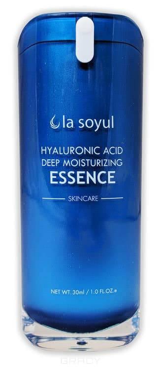 Hyaluronic Acid Deep Moisturizing Essence Эссенция с гиалуроновой кислотой для лица, интенсивно увлажняющая, 30 мл femegyl professional интенсивно увлажняющая маска для лица с гиалуроновой кислотой и коллагеном 1шт