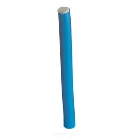 Comair, Бигуди длинные 254 мм, 6 шт Синие, D 14 ммБигуди<br><br>