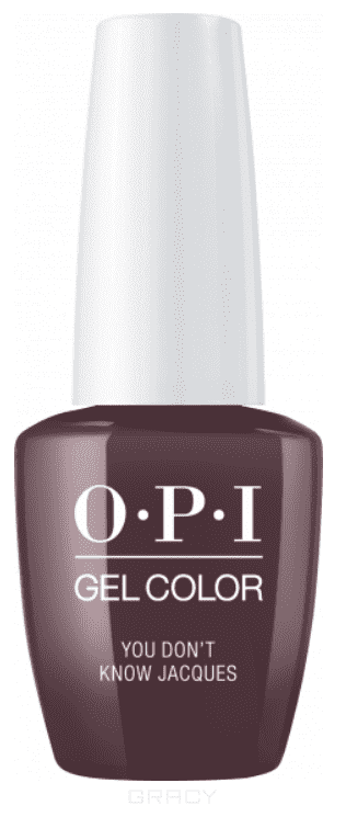 OPI, Гель-лак GelColor, 15 мл (95 цветов) You Don'T Know Jacques! opi гель лак gelcolor 15 мл 95 цветов do you have this color in stock holm
