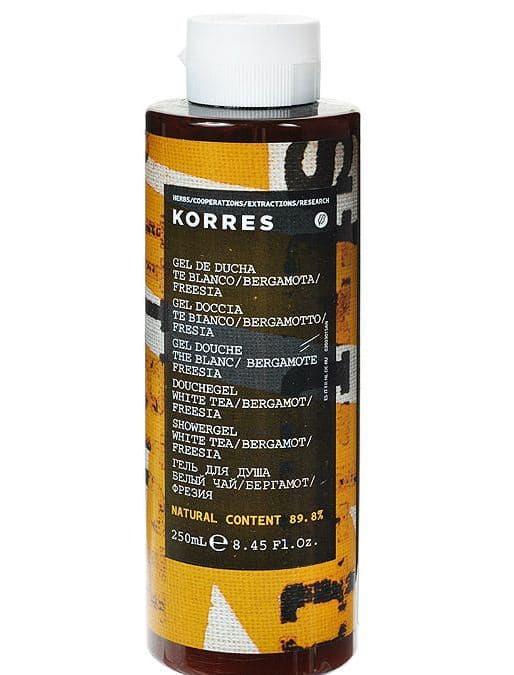 Korres, Гель для душа Белый чай, 250 мл korres гель для душа мятный чай 250 мл