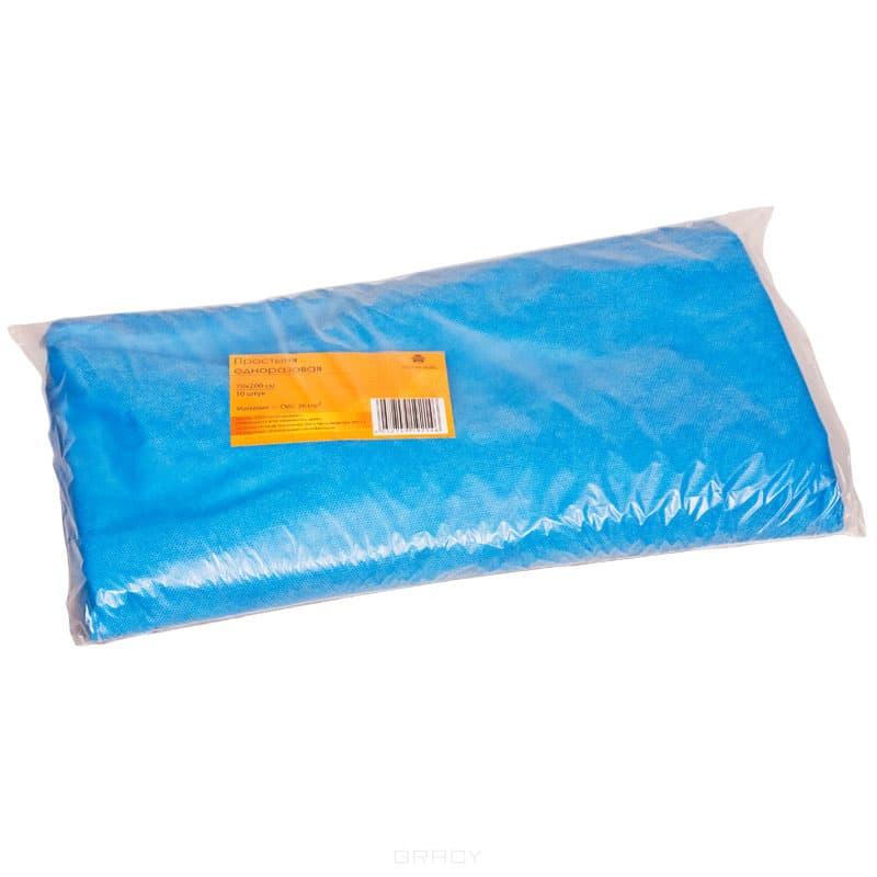 Простыня одноразовая голубая 70*200 смРазмер: 70х200 см&#13;<br>Материал: SMS&#13;<br>&#13;<br>Плотность: 20 г/кв.м&#13;<br>&#13;<br>Цвет: Голубой&#13;<br>&#13;<br>Количество в упаковке: 10 шт, 100 шт&#13;<br>&#13;<br>Торговая марка: Planet Nails&#13;<br>&#13;<br>Страна производитель: Россия<br>