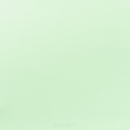 Имидж Мастер, Пуф для салона красоты со спинкой Диалог Модуль №1 (48 цветов) Салатовый 6156 имидж мастер мойка парикмахерская сибирь с креслом касатка 35 цветов салатовый 6156