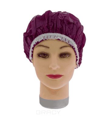 Купить Sibel, Шапочка для душа-химии пластиковая лиловая