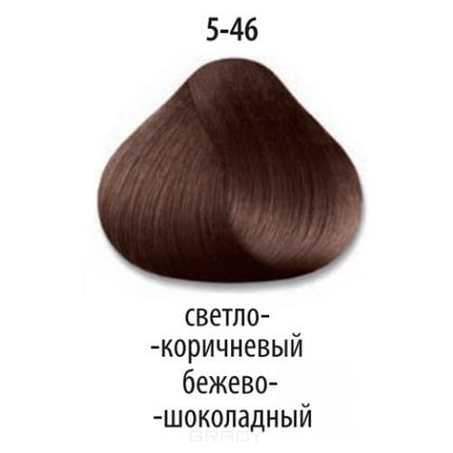 все цены на Constant Delight, Краска для волос Констант Делайт Trionfo, 60 мл (74 оттенка) 5-46 Светлый коричневый бежевый шоколадный онлайн