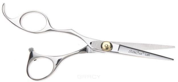 Olivia Garden, Ножницы Silkcut для левши (2 вида), 1 шт, Silkcut 500 SH-SC1PC-CL500Ножницы для стрижки волос<br><br>
