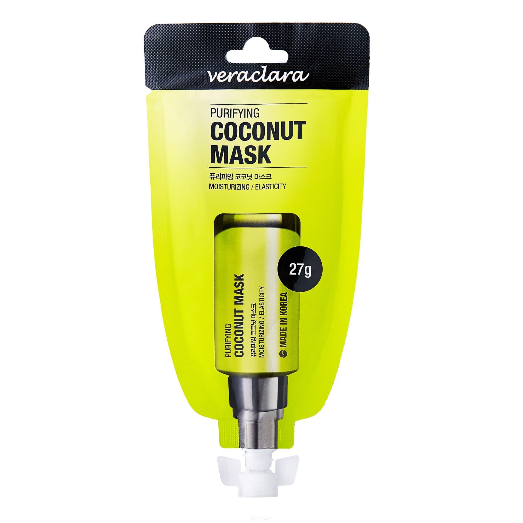 Маска кокосовая очищающая PURIFYING COCONUT MASK, 27 гр