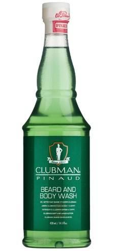 Купить Clubman, Гель для мытья бороды и тела Reserve Beard and Body Wash, 430 мл