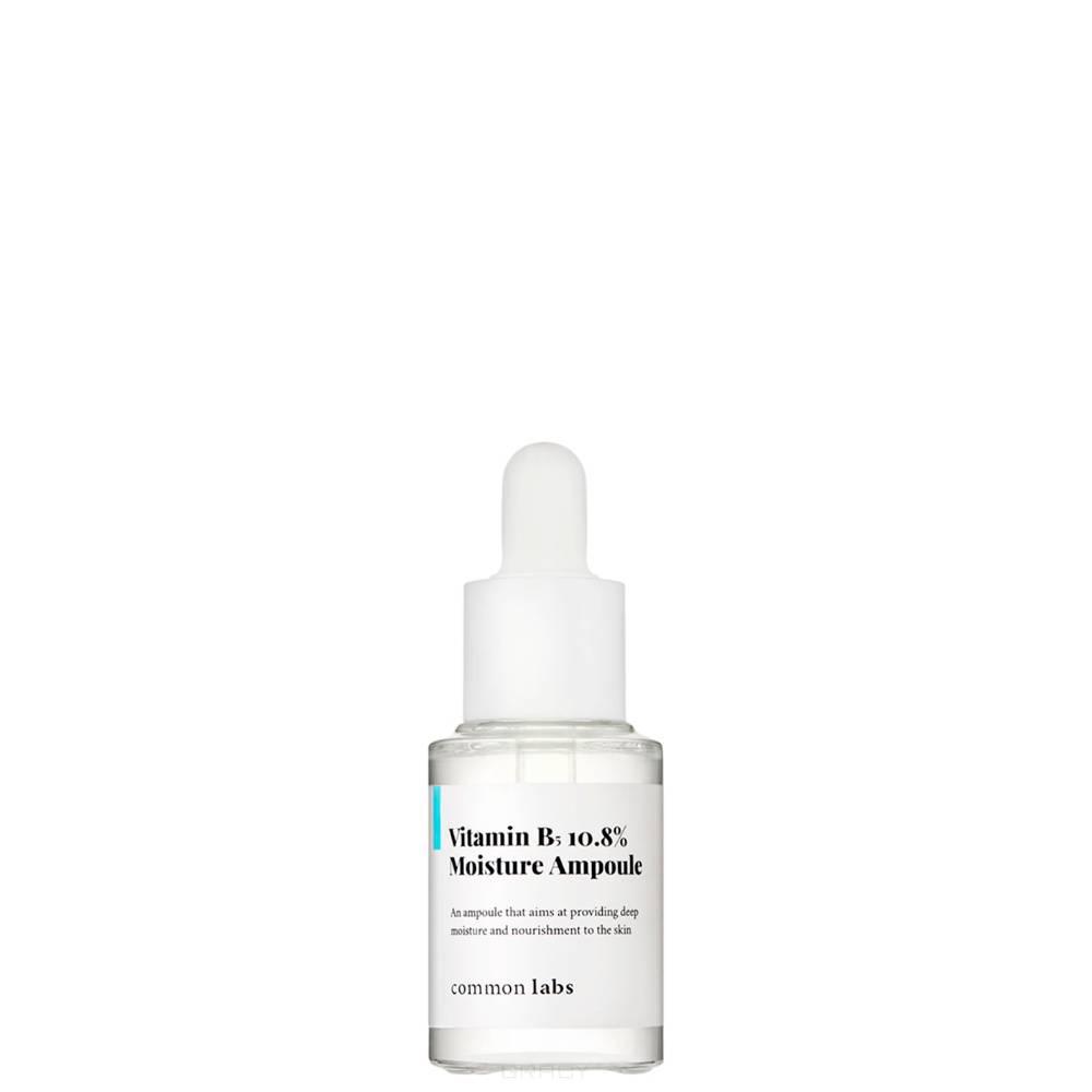 Common Labs, Увлажняющая ампульная сыворотка с 10,8% витамина B5 Vitamin B5 10,8% Moisture Ampoule, 18 мл vitamin d3