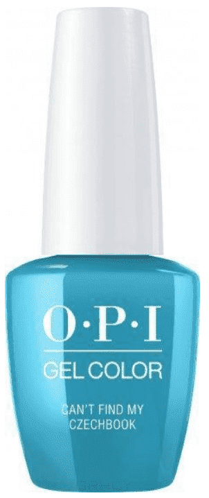 OPI, Гель-лак GelColor, 15 мл (95 цветов) Can'T Find My Czechbook beautix гель лак 311 15 мл