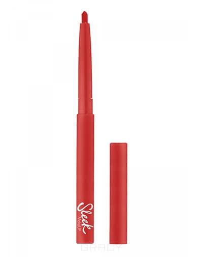 Sleek MakeUp, Карандаш для губ автоматический, 2 г (8 оттенков) Карандаш для губ автоматический, 2 г sleek makeup карандаш для глаз автоматический twist up eye pencil 2 гр 3 оттенка aubergine 898