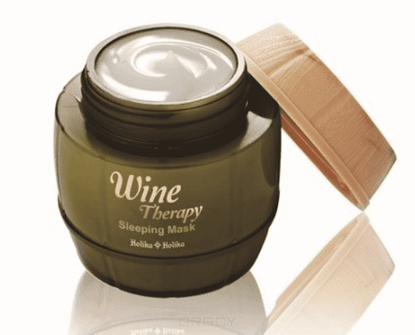 Wine Therapy Sleeping Mask White Wine Холика Холика винная маска для лица ночная, 120 мл wine pourer wine drip stop ring stopper corkscrew opener with foil cutting knife set