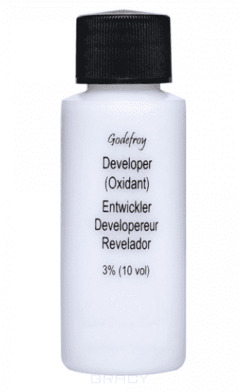 Godefroy, Проявляющая эмульсия для краски-хны Eyebrow Tint Activator, 125 мл фото