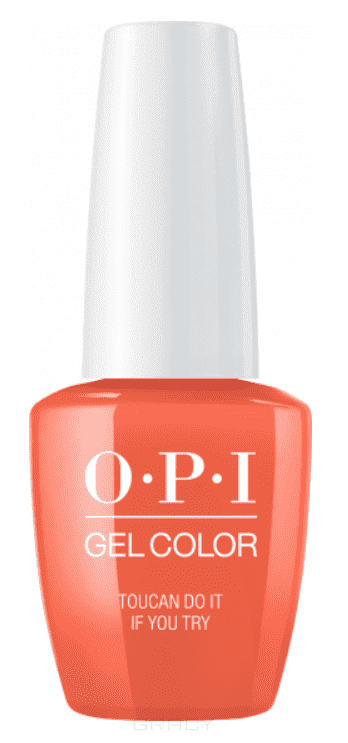 OPI, Гель-лак GelColor, 15 мл (95 цветов) Toucan Do It If You Try craft джемпер мужской craft pace jersey