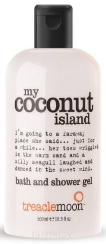 Купить Treaclemoon, Гель для душа кокосовый рай My Coconut Island Bath & Shower Gel, 500 мл