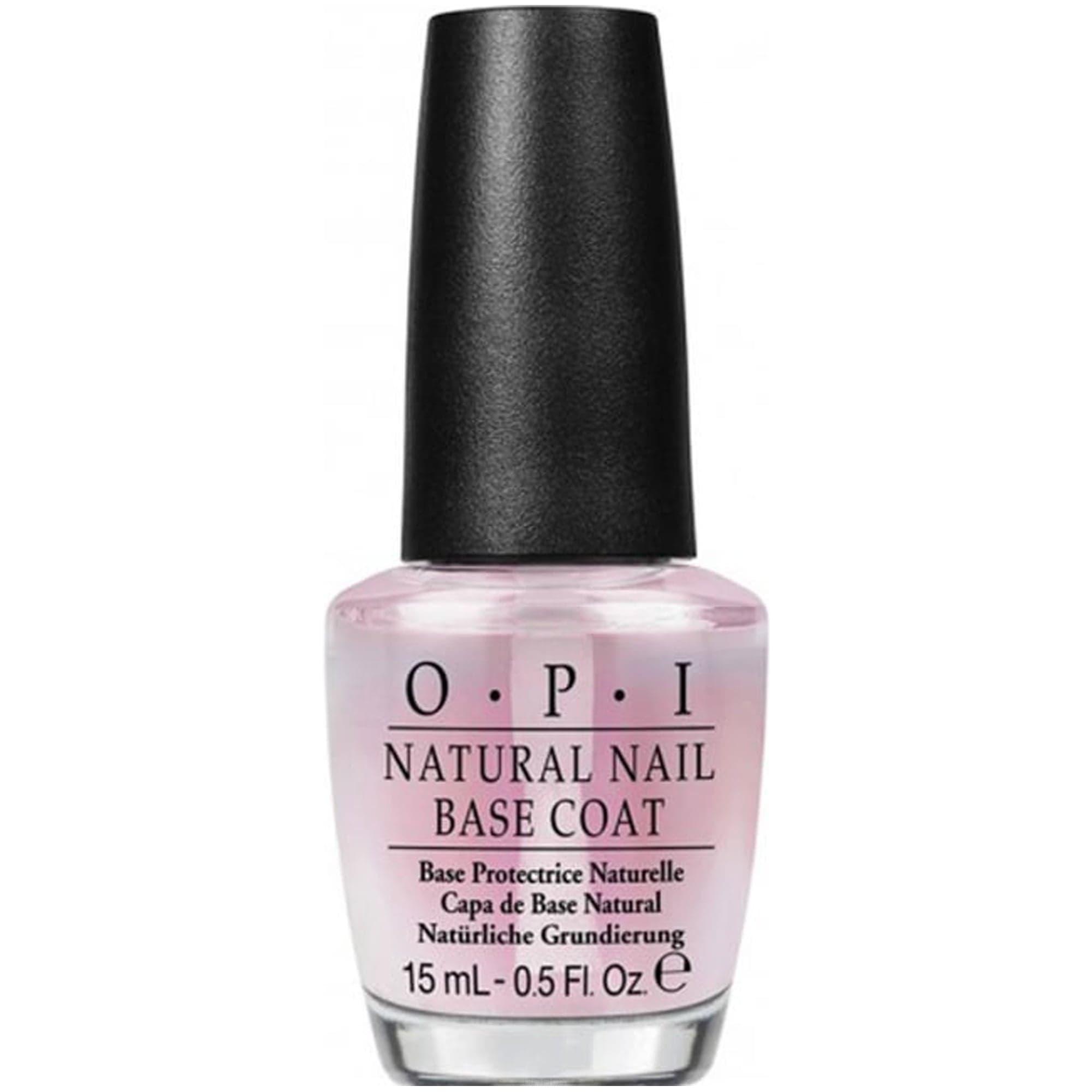 OPI, Покрытие базовое для натуральных ногтей (c кератин-аминокислотами) Natural Nail Base Coat, 15 мл цена