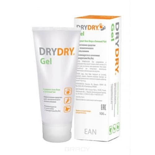 Dry Dry, Гель от обильного потоотделения, 100 мл dry dry лайт средство от обильного потоотделения 50 мл dry dry