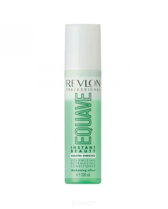 Revlon, Несмываемый 2-х фазный кондиционер для тонких волос Instant Beauty Voiumizing Equave, 200 мл revlon бальзам для экспресс увлажнения волос instant hydra 150 мл