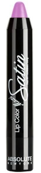 Absolute New York, Помада-карандаш для губ Maxi Satin Lip Crayon (15 тонов) Lavender Tint