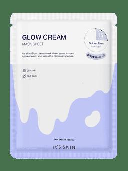 It's Skin, Glow Cream Mask Sheet Увлажняющая тканевая маска с кремом, 24 мл  - Купить
