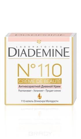 Diademine, Дневной Антивозрастной крем для лица Creme De Beaute №110, 50 мл diademine дневной крем для лица lift мгновенный эффект антивозрастной 50 мл