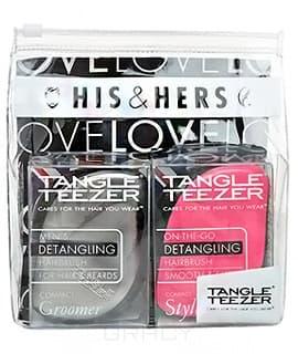 Tangle Teezer, Набор расчесок Compact Styler His &amp; Hers (2 шт)Расчески и щетки<br><br>