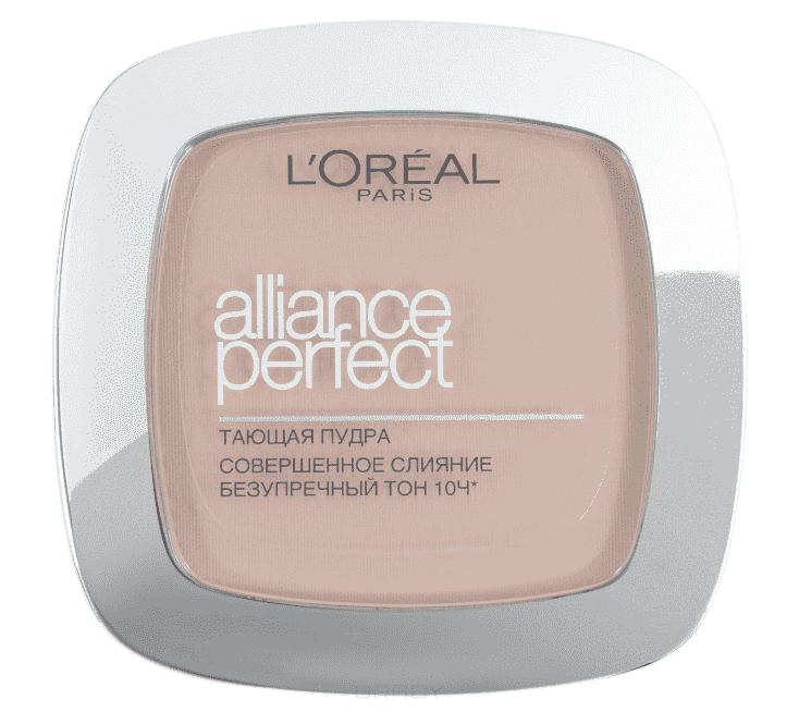 LOreal, Пудра Alliance Perfect Совершенное слиние, 9 гр (6 оттенков) N4 бежевыйДл лица<br><br>
