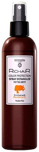 Купить Egomania, Спрей-кондиционер Защита цвета с маслом макадамии RicHair Color Protection, 250 мл