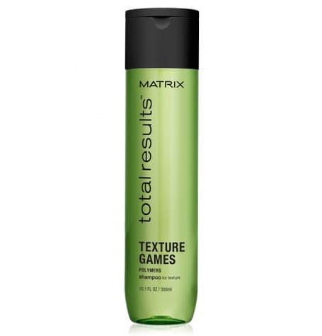Matrix, Универсальный шампунь, облегчающий укладку Total Results Texture Games Shampoo, 300 мл