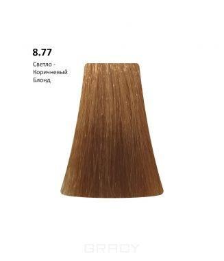 Купить BB One, Перманентная крем-краска Picasso Colour Range без аммиака (76 оттенков) 8.77Light Brown Blond/Светло-Коричневый Блондин