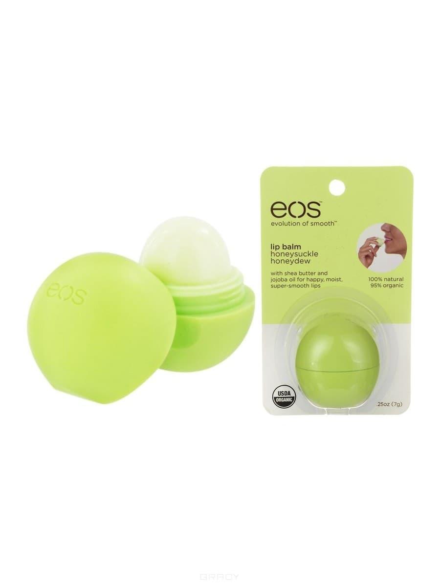 EOS, Бальзам для губ Жимолость-мускатная дыня Honeysuckle Honeydew (на картонной подложке) demeter honeysuckle 30