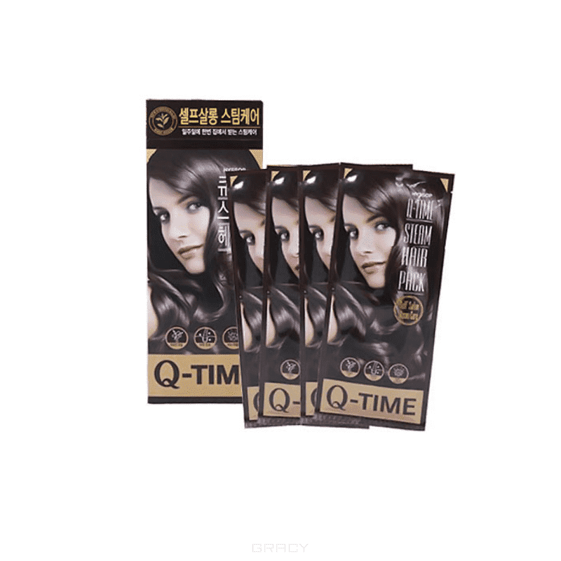 SeoulCosmetics, Маска мгновенного действия для волос Hyssop Q-Time Steam Hair Pack, 4*30 гр