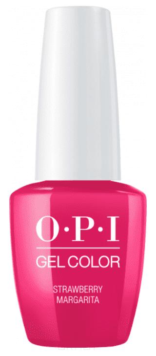 OPI, Гель-лак GelColor, 15 мл (95 цветов) Strawberry Margarita ezflow гелевый лак огненный закат ezflow trugel blazin sunset 19300 95 14 мл