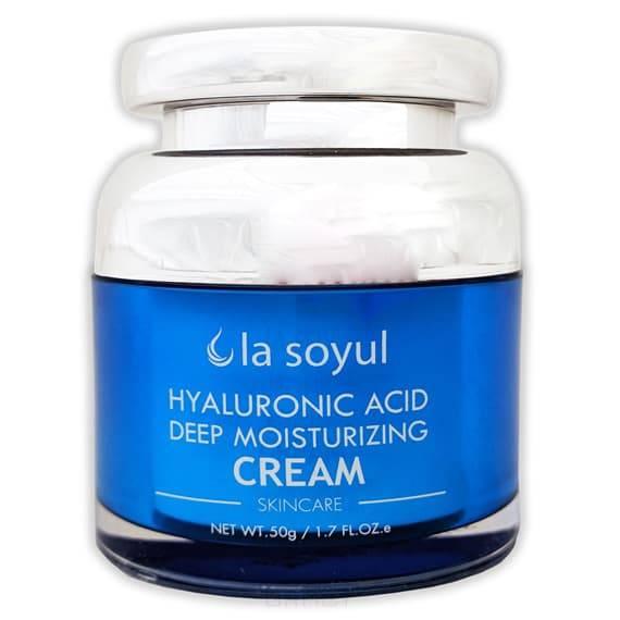 Hyaluronic Acid Deep Moisturizing Cream Крем с гиалуроновой кислотой для лица, интенсивно увлажняющий, 50 гр la mer легкий увлажняющий крем для лица the moisturizing soft cream легкий увлажняющий крем для лица the moisturizing soft cream