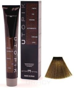Hipertin, Utopik Platinum Ипертин Краска для волос Ипертин (палитра 103 цвета), 60 мл 7/00+U русый интенсивный недорого