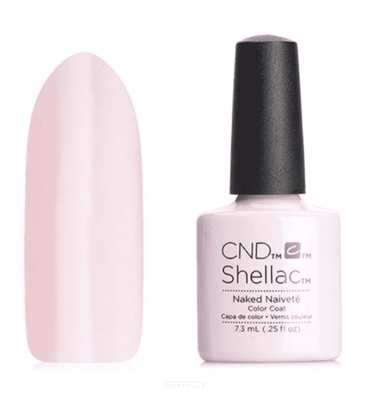 CND (Creative Nail Design), Гель-лак UV Shellac шеллак (58 оттенков) Contradictions Naked Naivete oreka 8006 black pc full frame pc lens fashion sunglasses grey