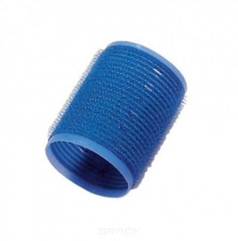 Comair, Бигуди-липучки «Jumbo», 60 мм, 12 шт Синие, D 40 ммБигуди<br><br>